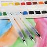 3 Pcs Water Brush Pen Set Watercolour Calligraphy Painting Tools Pens 3 Size