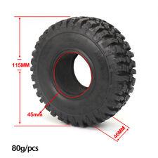 "1.9"" 115mm 1/10 Rc Rock Crawler Rubber Tires Tyre For SCX10 90046 D90 TRX4 TRX6"