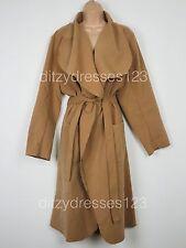 BNWT Lovedrobe Camel Wrap Style Blanket Coat Size 20 RRP £70