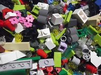 ☀️100 Lego Small & Tiny Pieces Bulk Lot Random Bricks Accent/Detail Parts Hinges