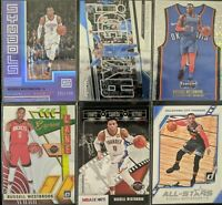 Lot of (6) Russell Westbrook, Including Status /149, Threads dazzle & more