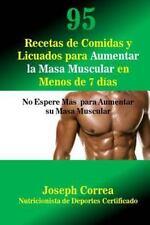 95 Recetas de Comidas y Licuados para Aumentar la Masa Muscular en Menos de 7...
