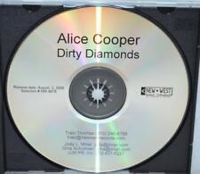ALICE COOPER Dirty Diamonds US Promo CD-R Rare Acetate 13 Tracks 2005