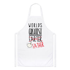 World's Greatest Farter Father Chefs Apron - Dad Fathers Day Funny Cooking