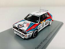 Modellino Auto Rally Spark 1 43 Lancia Delta HF Integrale Winner Monte Carlo