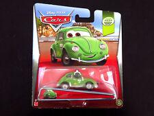Disney Pixar Cars Cruz Besouro Volkswagen Beetle Mattel Die-cast, Headset Green
