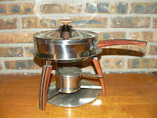 Vintage Danish Modern Style Vollrath Circa 21 Food Warming Pan Chafing Dish