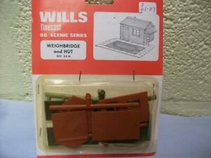 Railway Yard Weighbridge & Hut By Wills No SS16 'OO' Gauge, Unmade Kit, Sealed
