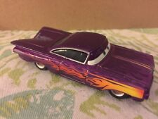 Disney Pixar Purple Ramona Chevrolet Impala Low n Slow Die Cast