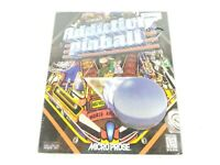 MicroProse Addiction Pinball PC Game for Windows PC CD-ROM Vintage 1998 New