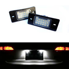 2 ECLAIRAGE PLAQUE LED VW TOUAREG 11/2002-05/2010 FEUX BLANC XENON