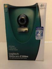 Logitech C120 Webcam USB Windows 10/8/7/Vista 1.3MP Video Capture Skype