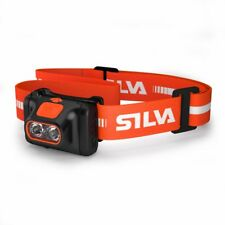 Silva Scout LED 220 lm Head Torch / Lamp Red & Clear light Blink mode Batteries