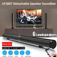 100-240V Wireless Bluetooth Speaker TV 3D Stereo Surround Home Theater Soundbar