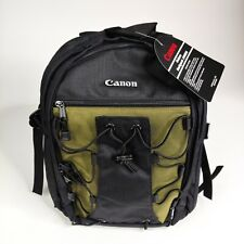 Canon Deluxe Photo Camera Padded 200EG Backpack Black Olive #6229A003 NEW Carry