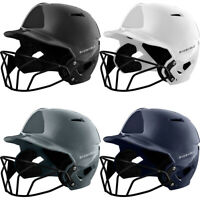 Evoshield XVT Fastpitch Softball Batting Helmet w/ Mask Gloss Finish