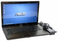 "Notebook ASUS x70d MODEL k72dr-ty012v 17,3"" pollici ddr-4gb. hdd-600gb win-7"