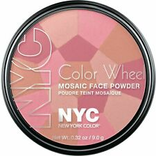 NYC New York Color Wheel Mosaic Face Powder - 723A Pink Cheek Glow FREE SHIPPING