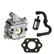 Carburetor Carb for Stihl MS170 MS180 017 018 C1Q-S57 Fuel Filter Fuel Line kit