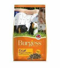 Burgess Excel Adult Guinea Pig Nuggets with Mint 2kg - 13853