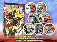 Vengador Jeeg DVD Audio Latino cap 1 al 24, Japones subt español cap 26 al 46