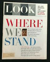 LOOK MAGAZINE - Jan 15 1963 - WHERE WE STAND by PRESIDENT JOHN F KENNEDY