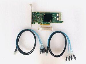 LSI 9207-8i SATA/SAS 6G/s PCI-E 3.0 IT Mode Host Bus Adapter 2*SFF-8087 SATA AU