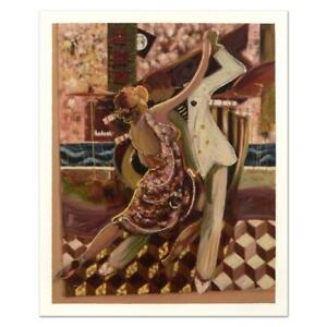 """Sabzi """"Tango II"""" Signed Limited Edition Giclee on Paper"""