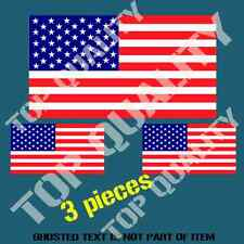 UNITED STATES USA NATIONAL FLAG DECAL STICKER HARD HAT VEHICLE HELMET STICKERS