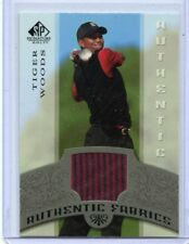 2005 SP SIGNATURE GOLF TIGER WOODS AUTHENTIC FABRICS SP
