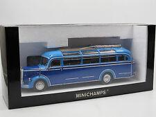 Minichamps 439360005, 1954 Mercedes-Benz O 3500 Bus, 2-farbig blau, 1/43 OVP