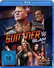 Blu-ray * WWE - SUMMERSLAM 2014  # NEU OVP &