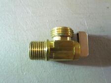 """Dahl 1/4 turn 90 Ball valve 1/2"""" MIP x 3/4"""" Brass Hose Bib A112.18.1M"""