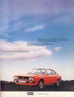 Lancia Beta Coupé Prospekt brochure Autoprospekt Broschüre brosjyre prospetto