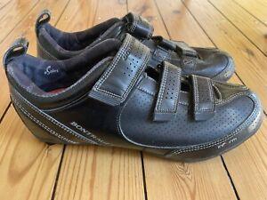 Cycling Shoes Bontrager Street Colour black leather Size EU 45 UK 10