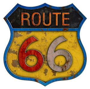 USA Route 66 van voiture Decal Camper Highway Autocollant. Amérique moto