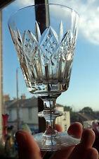 FAB VINTAGE WEBB CORBETT CUT CRYSTAL WINE GLASS SIGNED