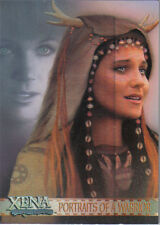 XENA ART AND IMAGES PORTRAITS OF A WARRIOR CARD PP1
