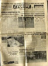 Journal l'Equipe n°2828 - 1955 -  Rugby section paloise - Girondins - Geminiani