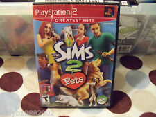 The Sims 2: Pets (Sony PlayStation 2, 2006) FREE USA SHIPPING