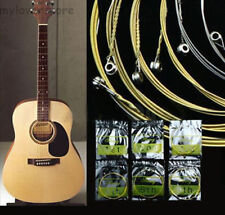 6er Set Stahl Saiten Gitarrensaiten für Akustikgitarre Westerngitarre 150XL Neu