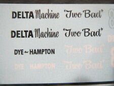 """New! """"Two Bad"""" 37' Fiat Comp Coupe 1/25th  Decal from Fremont Racing Specialties"""
