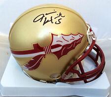 Jameis Winston Signed Florida State Seminoles Mini Helmet JSA