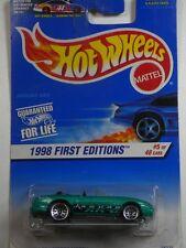 1998 HOT WHEELS First Editions JAGUAR XK8 #5 MOC