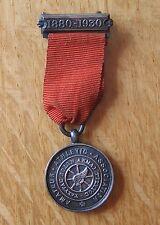 Vintage 1930 AAA Amateur Athletics Association 50th Anniversary Miniature Medal