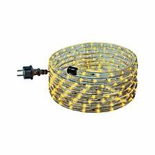 Lichtschlauch Set 6m mit steckerfertiger Anschlussleitung, Farbe gelb