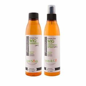 Awesome Wig Spray & Shampoo SET for Human Wigs