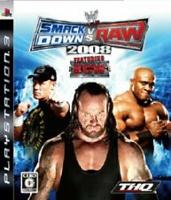 USED PS3 PlayStation 3 WWE Smackdown Vs. RAW 2008 10308 JAPAN IMPORT