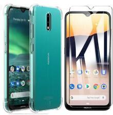 """Per Nokia 2.3, (6.2 """") Sottile Gel Silicone Trasparente Custodia Cover Telefono+"""