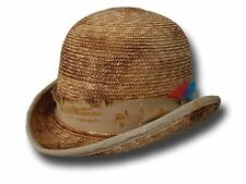 STROH MELONE HUT OLD WESTERN ANTIQUE BOWLER FRONTIER HAT